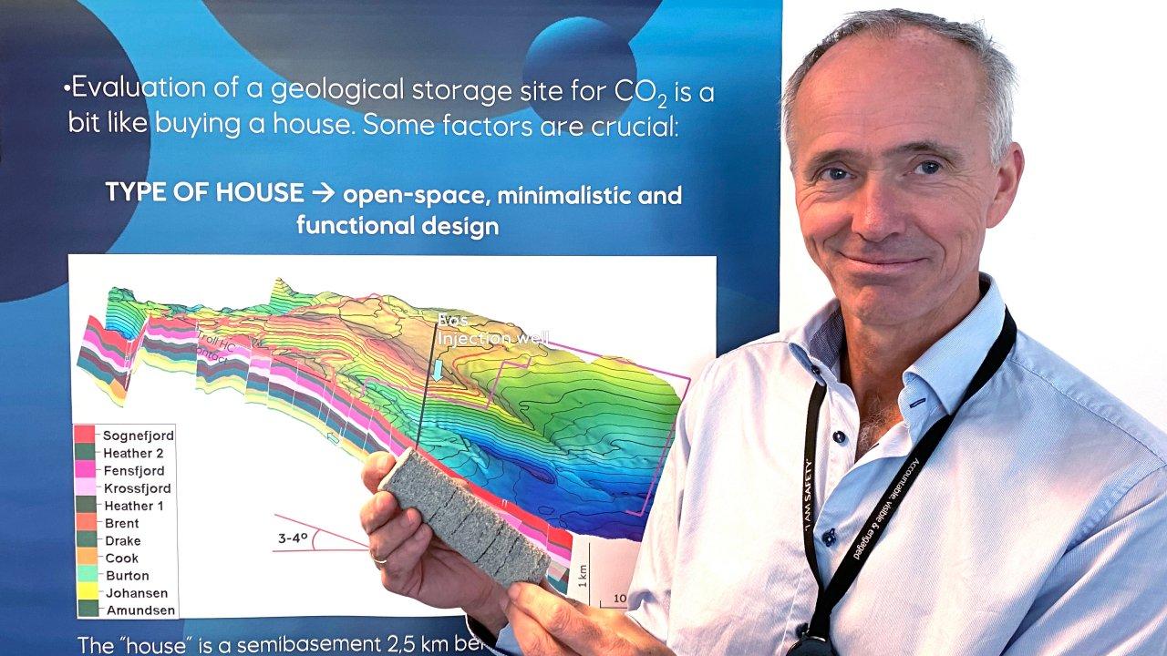 Project director Sverre Overå