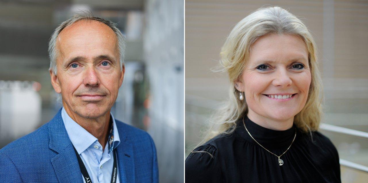 Sverre Overå and Peggy Krantz-Underland
